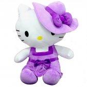 Peluş Hello Kitty Elbiseli Şapkalı 36Cm-3