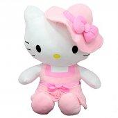 Peluş Hello Kitty Elbiseli Şapkalı 36Cm-5