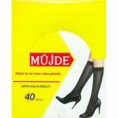 6lı Paket Müjde Orta Kalın Tül 40 Denye Pantolon Çorap(Sarıkutu)