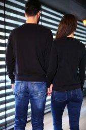 Sevgili Kombinleri Beast - Beauty Sweatshirt Siyah-2