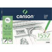 Canson 1557 Resim Ve Çizim Blok 120gr 25x35 15...