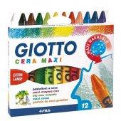 Giotto Cera Maxi Mum Boya 12li Paket