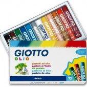 Giotto Olio Yağlı Pastel Boya Silindir 12li...