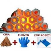 Doğal Briket Yerli Pres Mangal Kömürü 10 Kg
