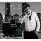 Tiaras Black Set Edt Erkek 100Ml+Deodorant 150 Ml-2
