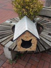 Kedi Evi Kedi Kulübesi Dış Mekan Kedi Yuvası...
