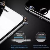 Lito Apple iPhone 7 Plus / 8 Plus 3d Cam Ekran Koruyucu Siyah-3
