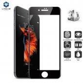 Lito Apple iPhone 7 Plus / 8 Plus 3d Cam Ekran Koruyucu Siyah-5