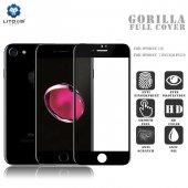 Lito Apple iPhone 7 Plus / 8 Plus 3d Cam Ekran Koruyucu Siyah-6