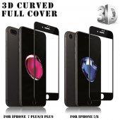 Lito Apple iPhone 7 Plus / 8 Plus 3d Cam Ekran Koruyucu Siyah-7