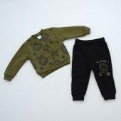 Nazar Bebe Erkek Çocuk Baskılı Moda 2li Takım 18391