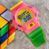 Watchart Marka Yeni Model 50m Su Geçirmez Dijital Çocuk Kol Saati St 303372