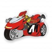 Motosiklet Bebek Mobilya Kulp Kırmızı