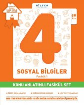 Bilfen 4. Sınıf Sosyal Bilgiler Konu Anlatımlı Fasikül Set ve Ödev Fasikülleri