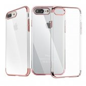 Baseus (TPU) Shining Kılıf iPhone 7 Plus/8 Plus Rose Gold