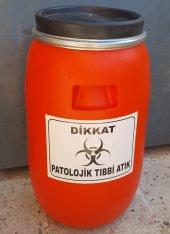 Patolojik Atık Fıçısı 60 Lt