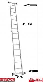 7+7 Basamaklı Alüminyum Katlanabilir Merdiven