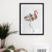 Vetro Design Ahşap Çerçeveli Poster