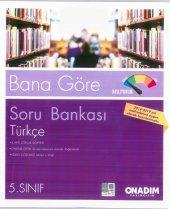 5. Sınıf Türkçe Soru Bankası 2 Kitap (Onadım Yayınları)
