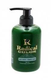 Zümrüt Yeşili Radical Color Su Bazlı Saç Boya 250 Ml Jeans Color