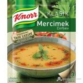Knorr Hazır Çorba Süzme Mercimek Çorbası 76g Nettoptan