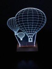 3d 3boyutlu Uçan Balon Kişiye Özel Hediye 10...