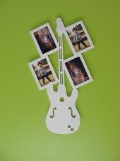 Ahşap Gitar Resim Çerçevesi 4 Lü