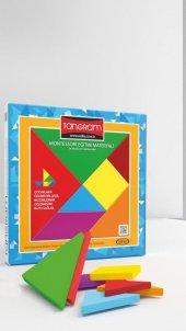 Redka Ahşap Tangram Montessori Tangram Zeka...