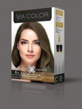 Sea Color Saç Boyası 8.11yoğun Açık Küllü Kumral