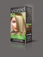 Sea Color Viored Natural Set Saç Boyası 7.1 Küllü Kumral