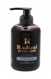 Radical Color Su Bazlı Saç Boyası Koyu Kızıl 250 Ml Jeans Color
