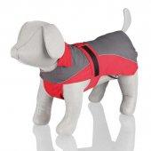 Trixie Köpek Yağmurluğu M 50cm Kırmızı Gri