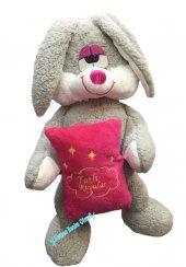 Peluş Tavşan Oyuncak Tavşan 60 Cm Yastıklı...