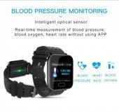 Olix A6 Sport Smart Watch Akıllı Saat Su Geçirmez, Tansiyon ve Nabız Ölçer, Uyku Takip-5