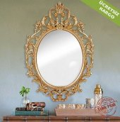 Salon Aynası Oymalı Ayna Dekoratif Ayna