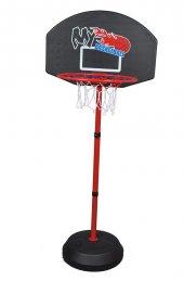 Leyaton Basketbol Potası Ayaklı 129,5 Cm +top...
