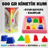 Kinetik Kum 500 Gr + Oyun Havuzu + Oyun Kalıbı...