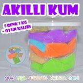 Kinetik Kum Smart Sand Hi Q Toys Belgeli (1 Kg...