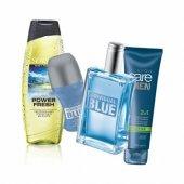 Avon İndividual Erkek Parfüm Seti 4 Parça Yeni Kalıcı Set.