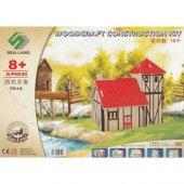Woodcraft Ahşap Maket Villa Ev Maketi