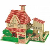 Woodcraft Ahşap Maket Yazlık Ev Maketi