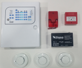 Yangın Alarm Paneli Komple Set