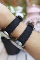 Siyah Kot Kordonlu İskambil Tasarımlı Sevgili Kombini-2