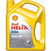 Shell Helix Hx6 10w40 Motor Yağı 4 Litre