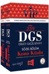 Yargı 2019 Dgs Vıp Sayısal Sözel Bölüm Konu Kitabı Set 2 Kitap