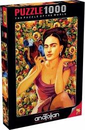 Anatolian Puzzle 1000 Parça Frida Kahlo