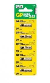 Gp Gp27a C5 27a 12v Alkalin Spesifik Pil 5li Paket