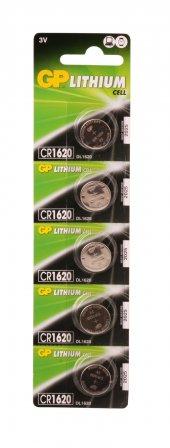 Gp Cr1620 C5 3v Lityum Düğme Pil 5li Paket