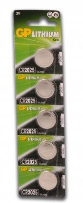 Gp Cr2025 3v Lityum 5li Kartela