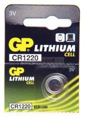 Gp Cr1220 C5 3v Lityum Düğme Pil 5li Paket